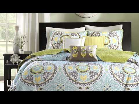 Samara 6 Piece Coverlet Set by Madison Park