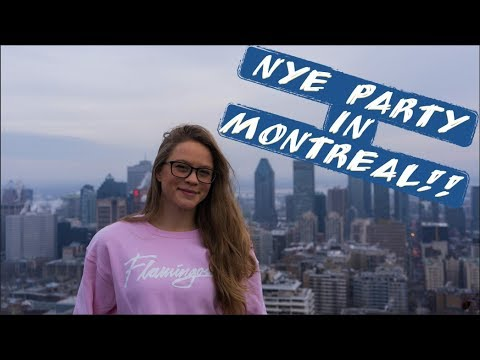 24 Hours In Montreal | New Year's Eve!