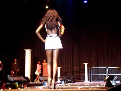 Live @ Karl J's Celebrity Hairshow Barbados - Model Search hosted by Eva Pigford