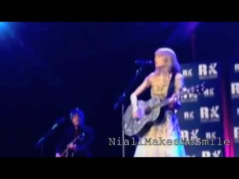 "Taylor Swift performing ""Starlight"" (JFK Charity Event) FRONT ROW :D"