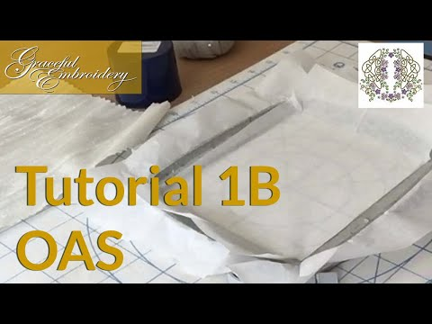 Tutorial 1B Outline alignment stitches