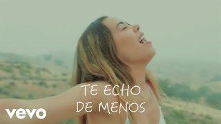 Beatriz Luengo Te Echo De Menos Official Lyric Video