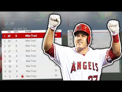 Can A FULL TEAM of MIKE TROUTS WIN THE World Series? | MLB