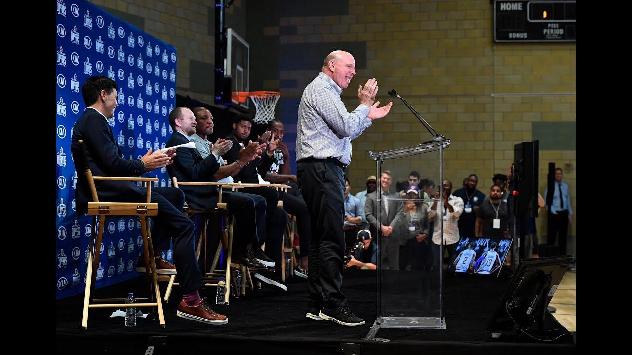 Steve Ballmer is still very hyped