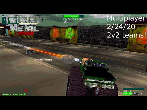 Twisted Metal Multiplayer 2-24-20