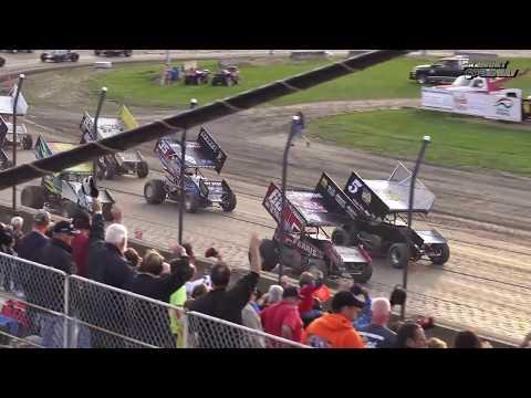 Fremont Speedway FAST 410 Sprint Car Feature - 8/5/2017