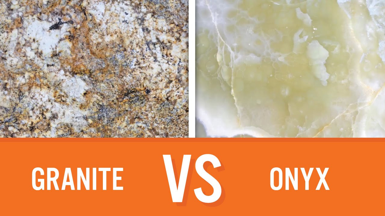 Granite Vs Onyx Countertops
