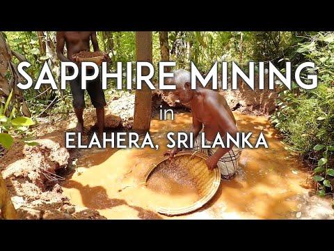 Sapphire mining in Elahera, Sri Lanka with Yavorskyy