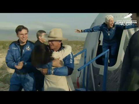 Download REPLAY - Le milliardaire Jeff Bezos a réussi son vol vers l'espace • FRANCE 24