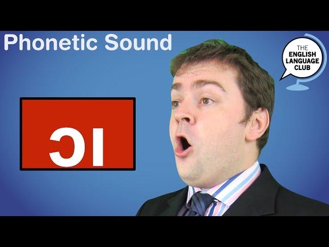 The /ɔɪ/ Sound
