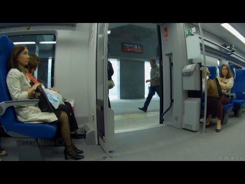 Поезд Ласточка и очередная МЦК-кругосветка