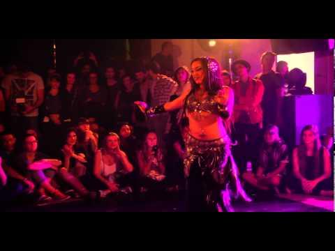 "SAHARA PIKSIE ~ Tribal Fusion improv @ ""Mi Casa Su Casa"" ~ Maria Kong"