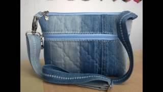 модели джинсовых сумочек. джинсовая сумка.