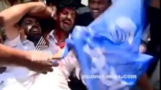 Many injured in KSU-police clash in Thiruvananthapuram