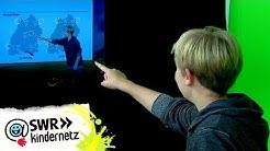 Wetter vorhersagen - Reporter Samuel lernt von Sven Plöger | Tigerenten Club | SWR Kindernetz