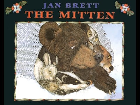 THE MITTEN. A Ukrainian Folktale adapted and illustrated by JAN BRETT. Grandma Annii's Storytime.