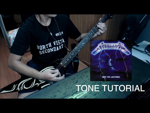How To Get Metallica's 'Ride The Lightning' Tone | Reaper And VST's Only (Tutorial)