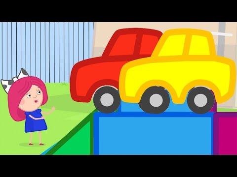 Развивающие мультики - Смарта и Чудо Сумка 3: про паровоз