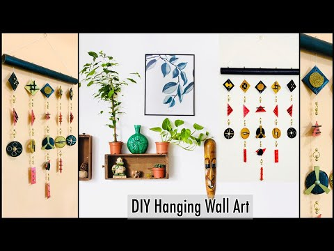 14 Unique Styled Wall Hanging For Your Home Decor Gadac Diy Home Decorating Ideas Handmade Wall Art Youtube