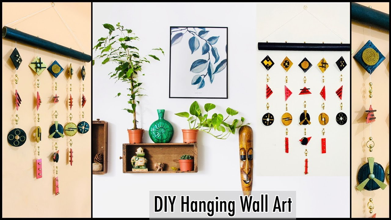 14 Unique Styled Wall Hanging For Your Home Decor|gadac diy|Home Decorating Ideas Handmade|Wall Art