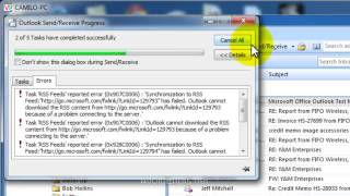 Outlook 2007: Remove or Disable RSS Feed Support
