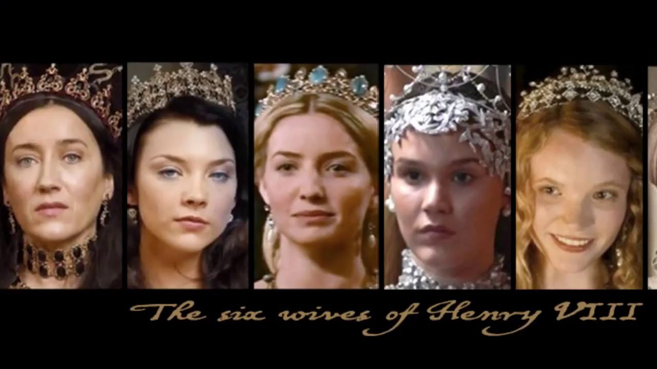 Żony henryka viii the wives of henry viiith the tudors