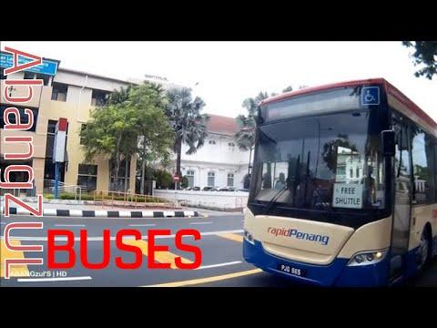 SCANIA K250UB RAPID PENANG FREE SHUTTLE BUS