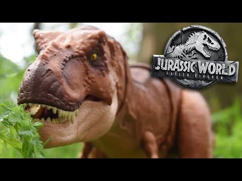 T.rex Has Returned!!! - Jurassic World Fallen Kingdom Review and Unboxing