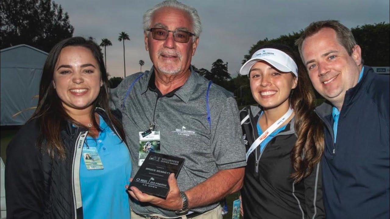 AXA Volunteer Award Winners on the LPGA Tour