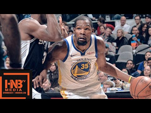 Golden State Warriors vs San Antonio Spurs Full Game Highlights | 11.18.2018, NBA Season