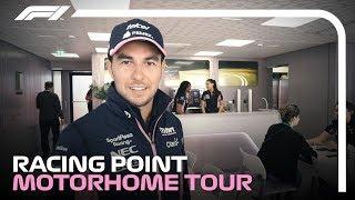 What's It Like Inside An F1 Motorhome? Sergio Perez's Tour!