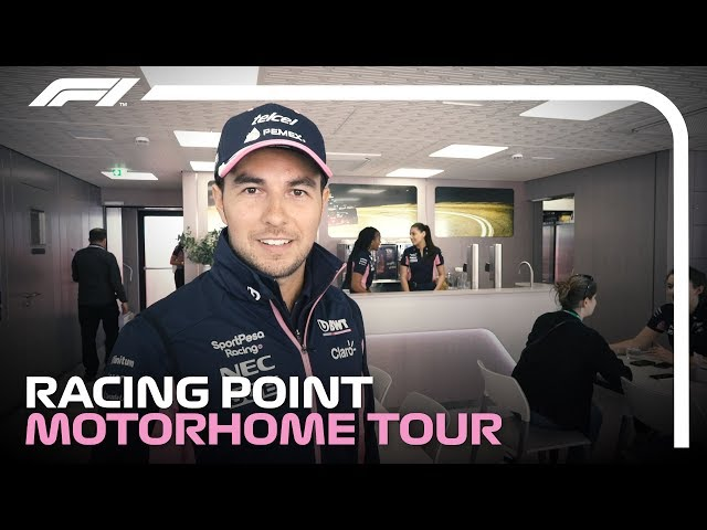 What's It Like Inside An F1 Motorhome? Sergio Perez's Tour!