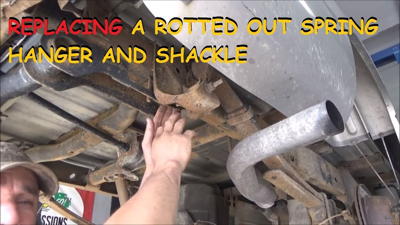 Installing Dorman Spring Shackles & Hangers On A Chevy/GMC ...