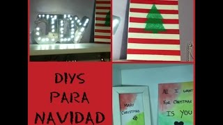3 DIYS para Decorar en Navidad (parte 2) ~Juli Thumbnail