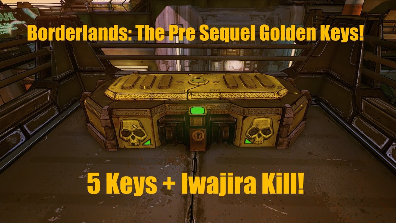 how to get golden keys in borderlands the pre sequel
