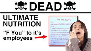 Ultimate Nutrition Goes OUT OF BUSINESS!