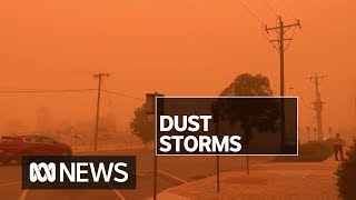 Health concerns for Victorians after weather conditions bring more dust storms | ABC News