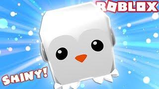 ABBIAMO MADE A SHINY LEGENDARY PENGUIN! Roblox Bubble Gum Simulator