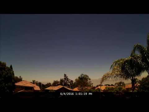 Chino Hills Time-Lapse 6/4/16