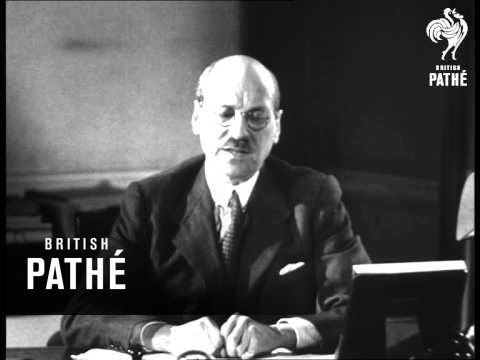 Attlee Speaks On Formation Of UN (1945)