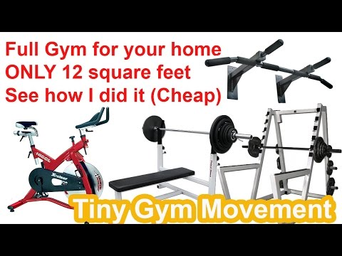 My FULL Gym In Small Apartment - How I Did It