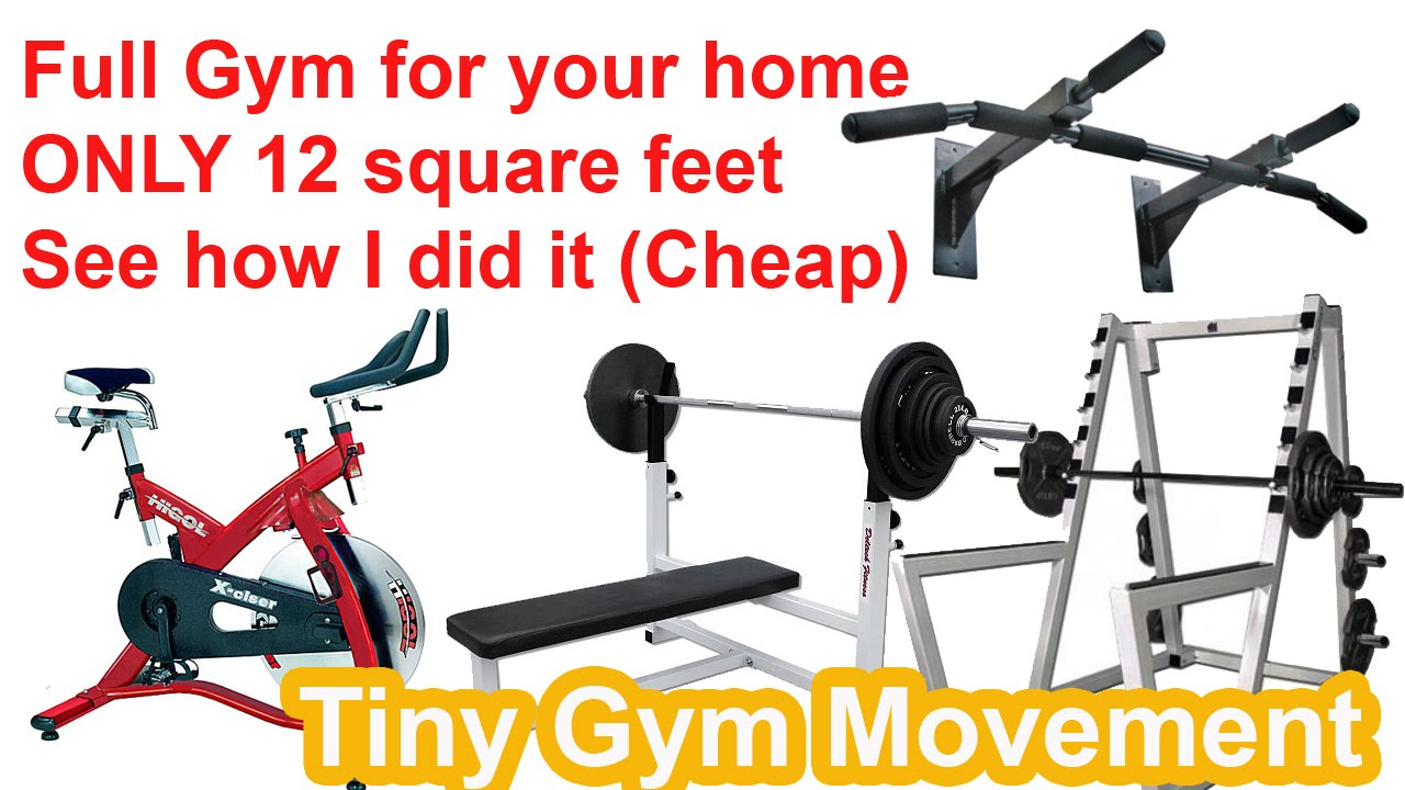 Exercise equipment for small apartments latest