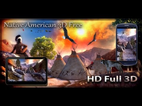 Free version of Native American 3D Free