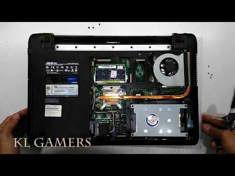 ASUS K52F Laptop Notebook Clean Remove Dust Vacuum 2019