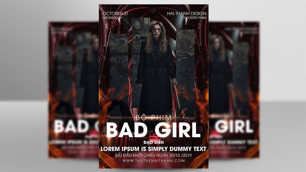 Hướng dẫn thiêt kế Poster Phim bằng Photoshop | Hải Thanh Design