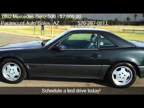 1992 Mercedes-Benz 500 500SL coupe - for sale in Tucson ...