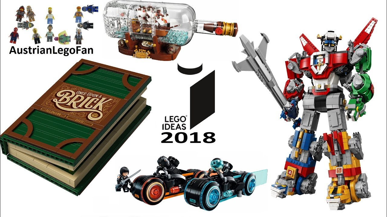 all lego ideas sets 2018 complete collection lego speed. Black Bedroom Furniture Sets. Home Design Ideas