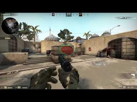 CS:GO - Tobii Eye Tracker 4C Heatmap