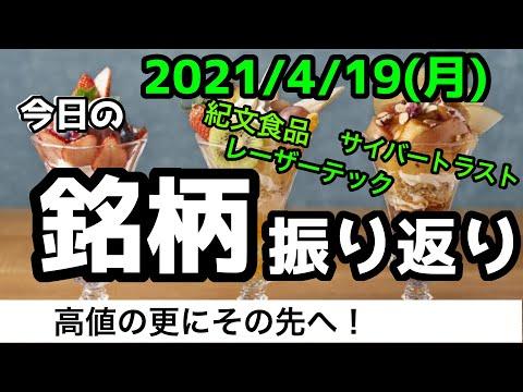 【相場振り返りシリーズ#166】2021年4月19日(月)~高嶺の更なる上へ!?~