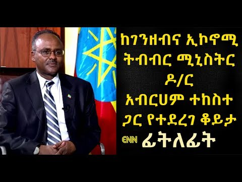 Ethiopia: Interview with Abraham Tekeste, Minister of Finance & Economic Development - Fitlefit - 1